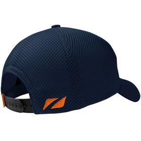 Zone3 Trucker Mesh Bonnet, navy/orange